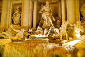 Trevi Fountain 2 by rafaelmcsilveira