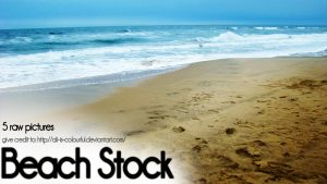 5 picture beach stock pack by ali-is-colourful