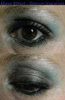 Garrus Vakarian Eye Make-Up by LadySiha