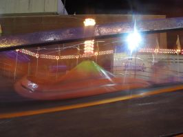 Melted Tilt-a-Whirl by Windthin