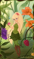 Pixie Hollow OC - Lillith by YuiMiki-Chan