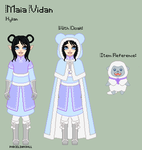 LoZ - Maia Reference Sheet by theRainbowOverlord