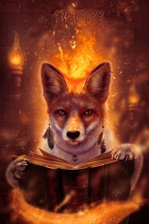 Fire Fox by CRaght