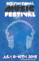 Music Festival Poster by GabrielaP93