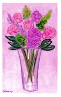 Mothers Day Flowers by ChibiCelina