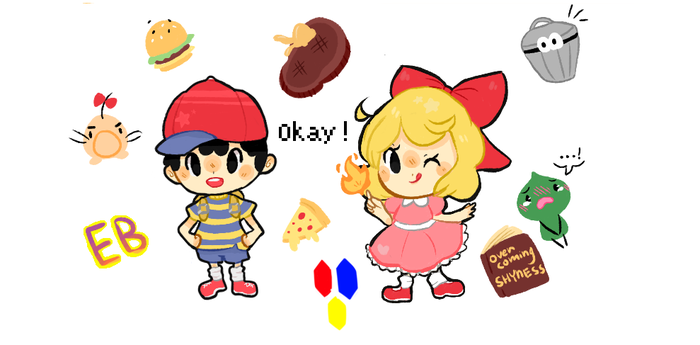 earthbound set by pomarril