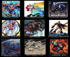Superman Alignments by The6thhokage