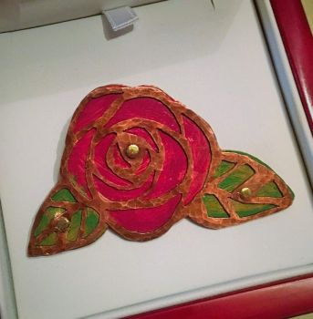 Rose Brooch by Mimiero