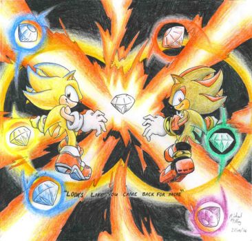 Super Sonic: Live and Learn by Sunburst-Super-Hero