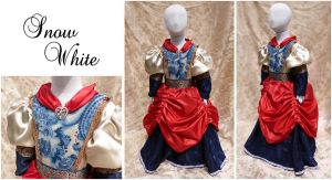 Snow White Storybook Dress by sadwonderland