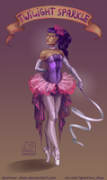 Twilight Sparkle vintage humanization by sparrow-chan