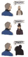 The Eyes of JAVERT by Hallpen