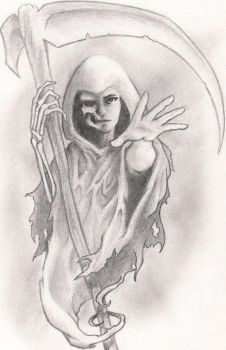 Lady Reaper 2 by beastgrinder