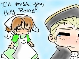 I'll miss you, Holy Rome by Ask-Lil-Bro-Trio