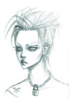 punk chick by punkypeggy