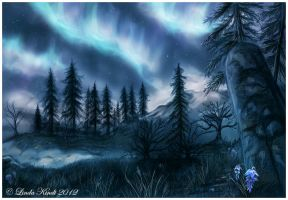 Lights In The Sky by Isriana