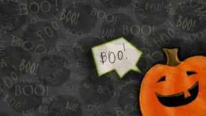 Free Halloween Wallpaper - Crinkled by SuzyQ2pie