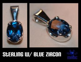 Zircon pendant by Dans-Magic