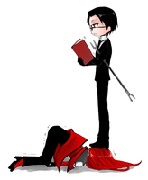 grell and William by Gumdeong