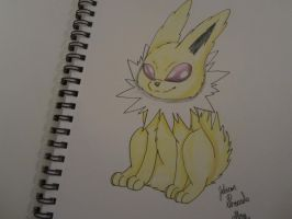 Jolteon by CollectionOfWhiskers