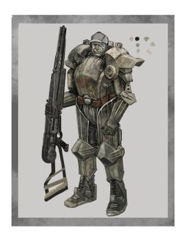Post-Apocalyptic Armor by calebcleveland
