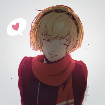 Happy New Year - Aigis by Koyorin