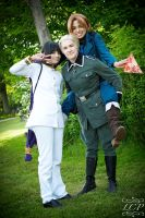 Hetalia: Trio Times by LiquidCocaine-Photos
