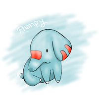 Phanpy by PeachyDream