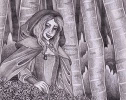 little red riding hood by away-with-the-fae