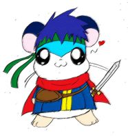 Ike the Hamster by ThatWildMary