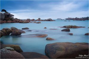 Granite from Renote Island by Philippe-Albanel