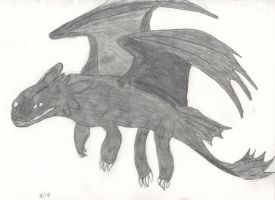 Toothless by Lupana