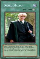 Yugioh cards Draco Malfoy by ghost-zero