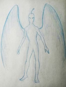 Ghogo the Angel by Remthedeathgoddess