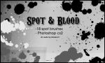 Spot and Blood Brushes by Shizuru117