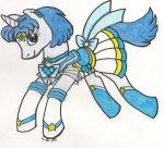 S.Sailor Mercury Pony by CooperGal24