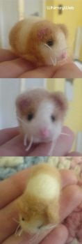 Needle Felted Guinea Pig Cavy by WhimsyWeb