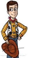 Sheriff Woody by Vega-Three