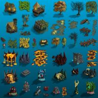 Props 2 for Warlords RTS by ThaneBobo
