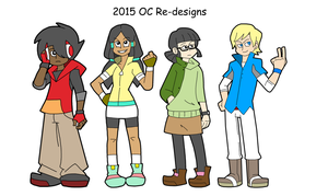 2015 4-player redesigns by ObsidianWolf7