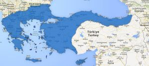 Google map Greater Greece/Hellas by Hellenicfighter