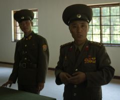 North Korean Army Officers by ShitAllOverHumanity