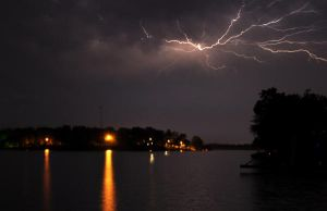 Lake Lightning by freeskifreeride