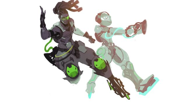 overwatch lucio by SiaKim