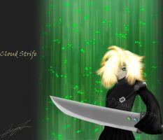 FF7-Cloud: knight of light by Squex