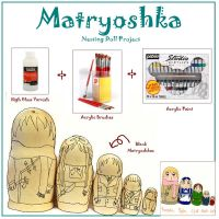 APH - Matryoshka Art Project by sakumi-sensei