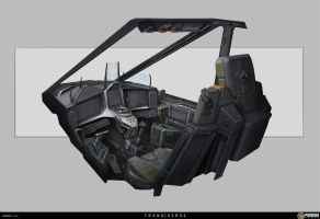 Fighter Cockpit by Sketchshido