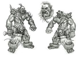 ORC sketches by AltoContrasteStudio