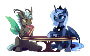 COM7_ Table Manners by MagnaLuna