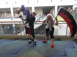 Megacon'15: Cosplay Shenanigans by CronaBaby